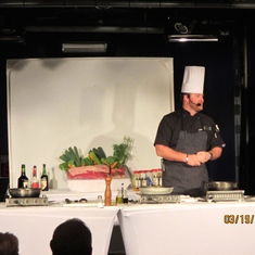 Chef Cooking Demo
