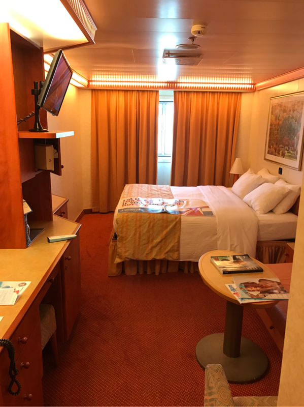 Oceanview Cabin 2376 On Carnival Valor Category 6c