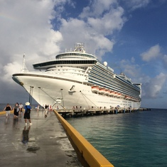 Grand Turk Island - Caribbean Princess at Grand Turk