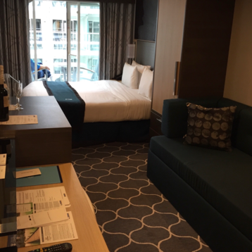 Central Park View Stateroom with Balcony on Harmony of the Seas