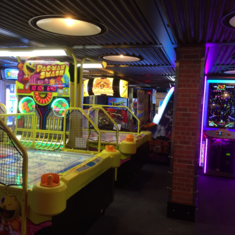 Video Arcade on Carnival Vista