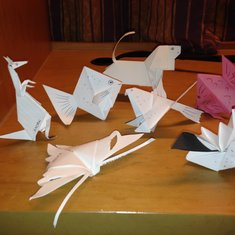 Origami made daily by Kadek.