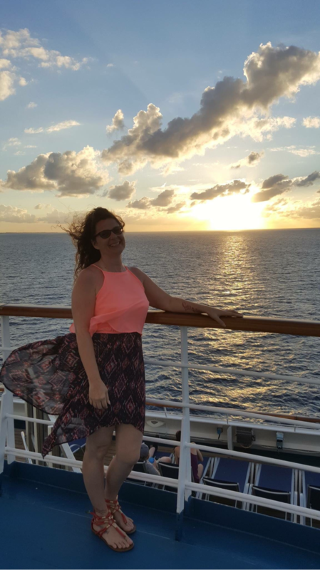 Elegant night sunset - Carnival Sunshine
