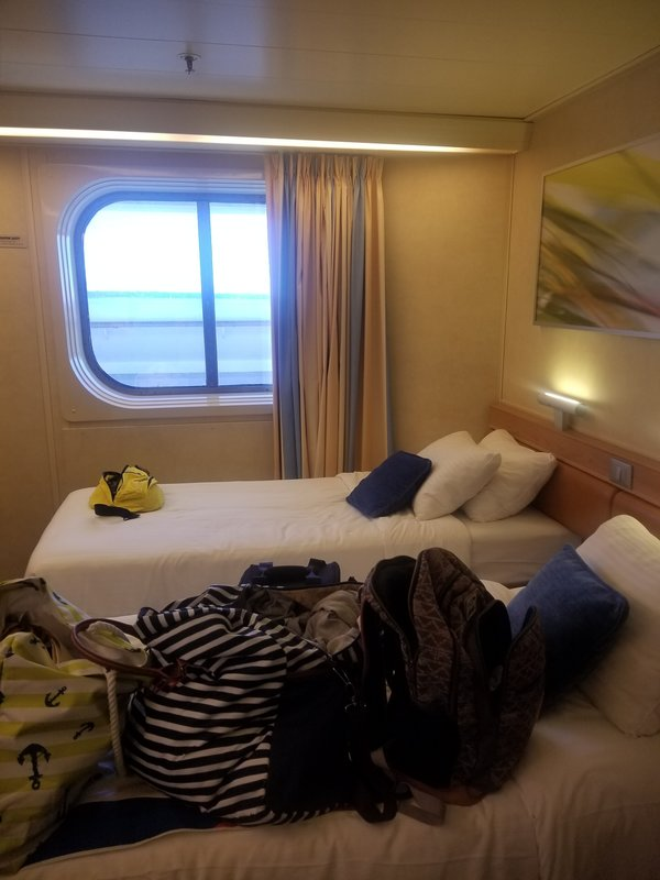 Inside Cabin 6104 On Carnival Sunshine Category 4j
