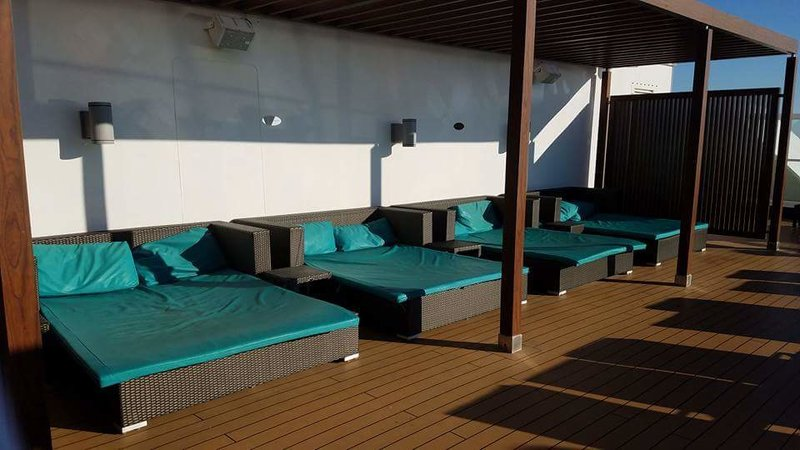 Serenity Deck - Carnival Sunshine
