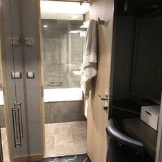 Bathroom and Dressing area
