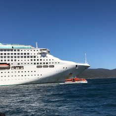 Tender off Port Arthur