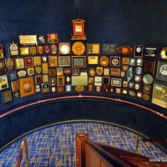 Rotterdam Memorabilia Wall - Stairwell