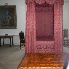 Kronborg bed for a princess