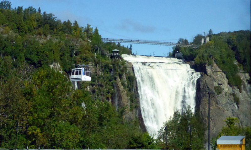 Mont Morency Waterfall - Celebrity Summit