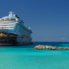 Castaway Cay (Disney Private Island) - Dream at Castaway Cay