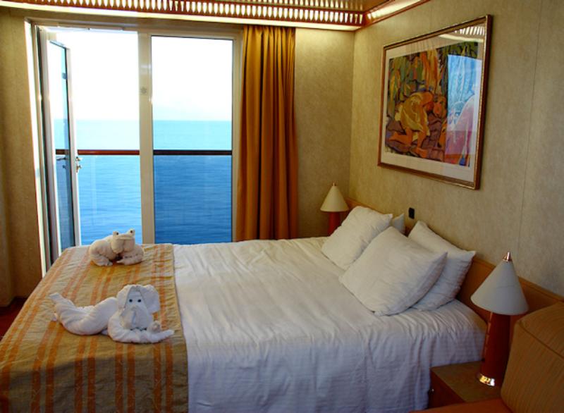 Balcony Cabin 10207 On Carnival Dream Category 8e