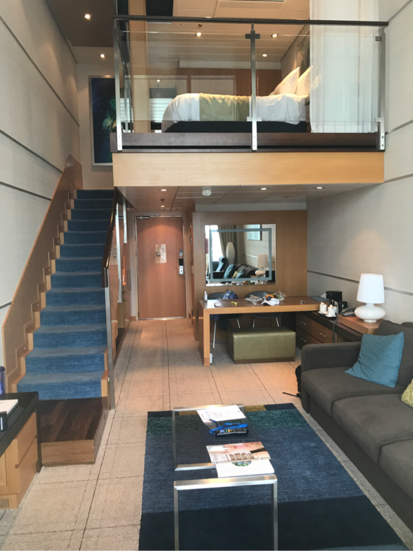 Crown Loft Suite With Balcony Cabin Category L2 Allure