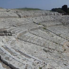 Greek Theatre at Syracuse, Sicily