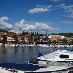 Village on island of Hvar