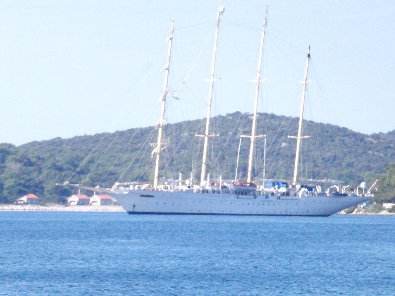 Ship in port - Star Flyer