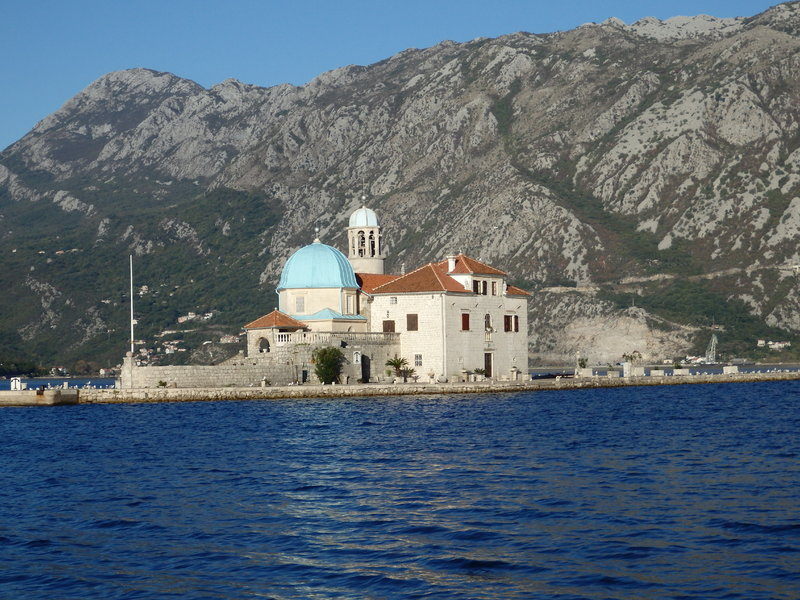 Church of Our Lady of the Rocks in Bay of Kotor - Star Flyer