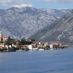 Sailing in Bay of Kotor