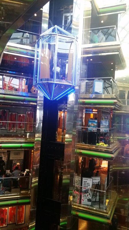 Carnival Ecstasy, Entertainment, Grand Atrium