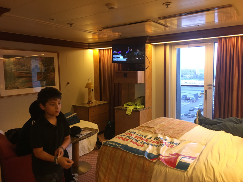 Balcony Cabin 6279 On Carnival Pride Category 9z