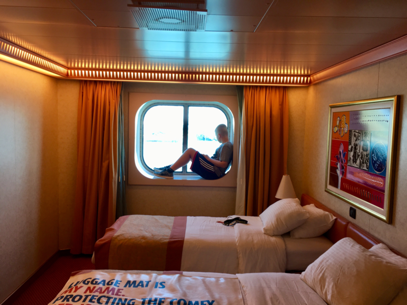 Oceanview Cabin 1264 on Carnival Freedom, Category 6B  Carnival Freedom Staterooms