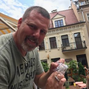 I found the Latvian (Namejs) Rings for my boys.