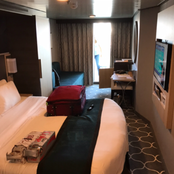 Superior Oceanview Stateroom with Balcony on Harmony of the Seas
