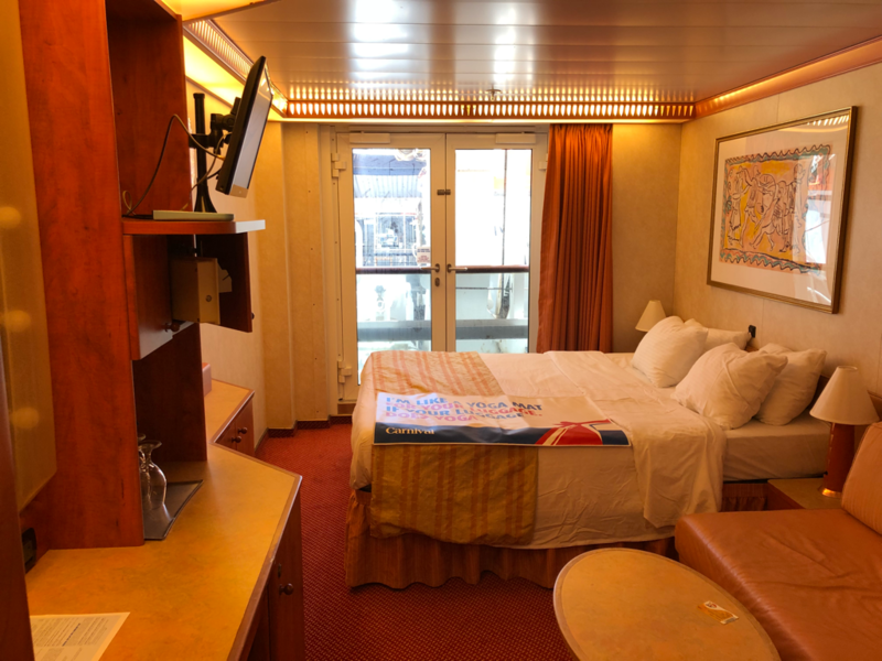 Inside Cabin 4149 On Carnival Legend Category 4k