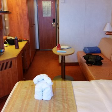 Balcony Stateroom on Carnival Legend