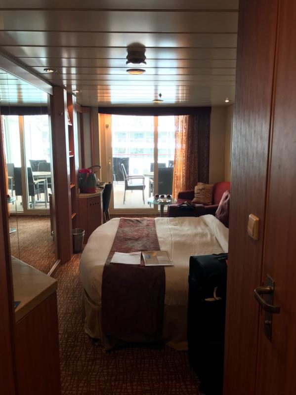 Balcony Cabin 7206 On Celebrity Summit Category W4