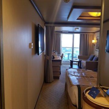 Mini Suite on Royal Princess