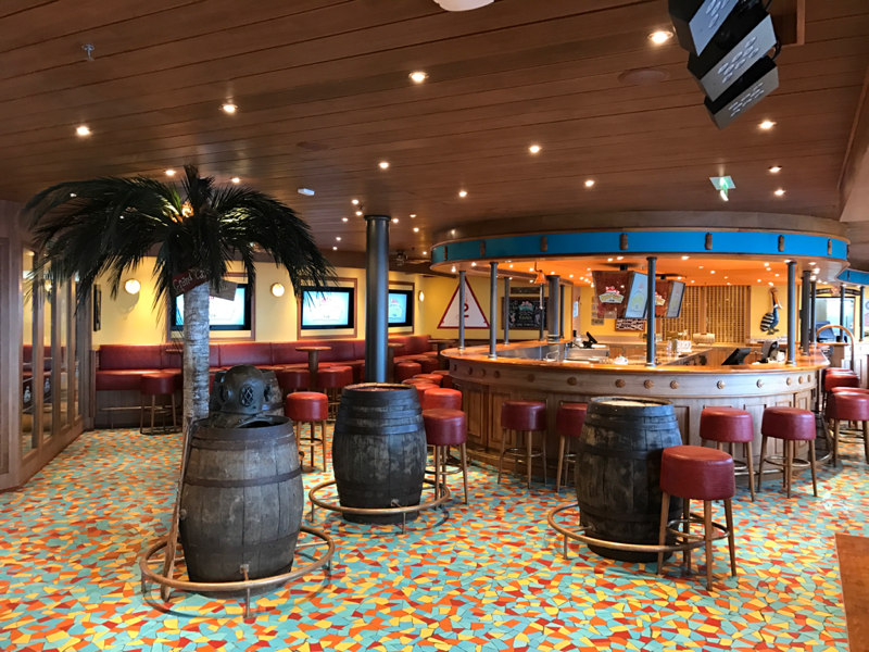 Carnival Sunshine, Bar, RedFrog Rum Bar