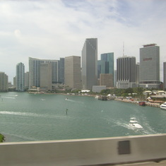 Miami harbour