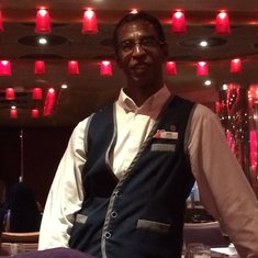 Our Head Waiter and Friend - Gene