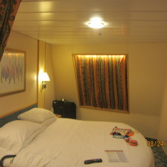 Cape Liberty (Bayonne), New Jersey - Our Stateroom