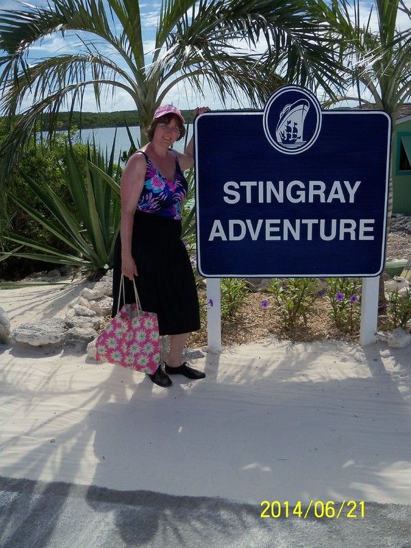 Half Moon Cay, Bahamas (Private Island) - I loved doing this!!!