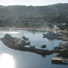 Docked in Ocho Rios,