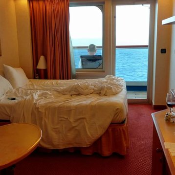 Balcony Stateroom on Carnival Glory