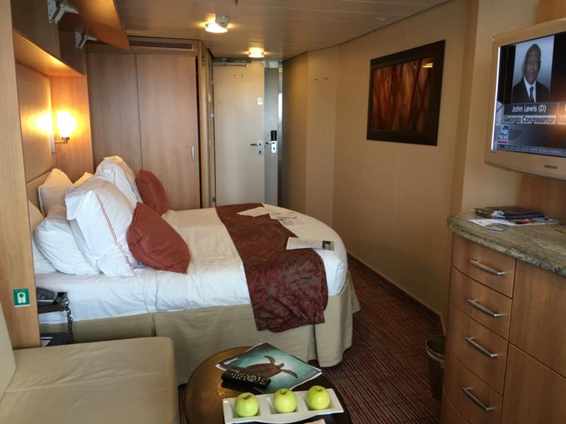 Balcony cabin 1063 on celebrity equinox category c3 for Celebrity equinox cabins photos