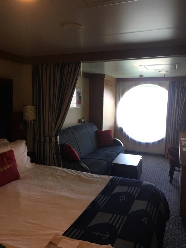Oceanview Cabin 9160 On Disney Dream Category 8b
