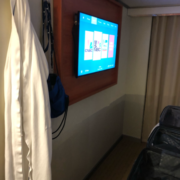 Large Oceanview Stateroom (Obstructed View) on Eurodam