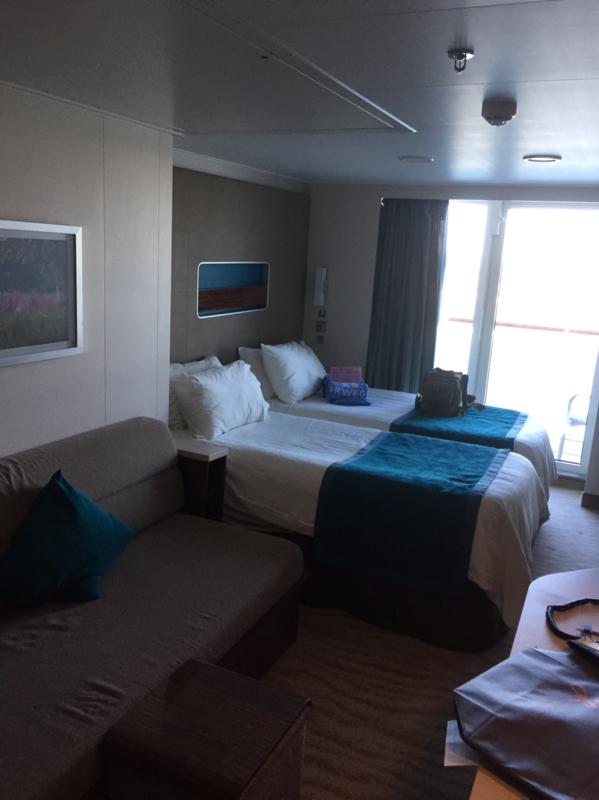 Balcony Cabin 12246 On Norwegian Getaway Category B2