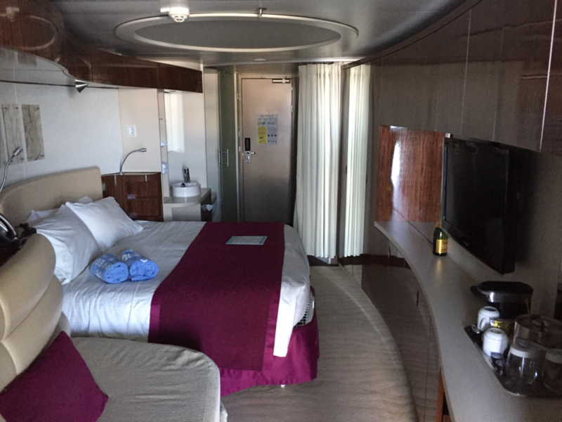 Mini Suite With Balcony Cabin Category Md Norwegian Epic