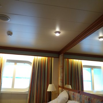 Oceanview Stateroom on Sapphire Princess