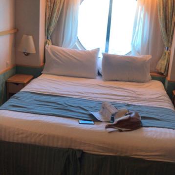 Oceanview Stateroom on Adventure of the Seas
