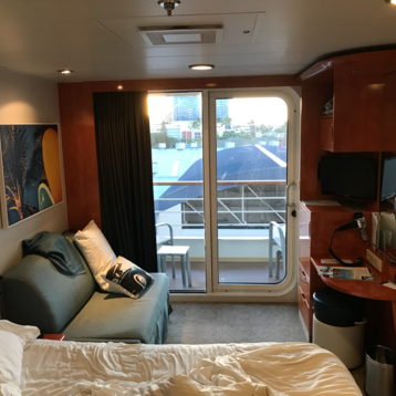 Mid-Ship Balcony Stateroom on Pride of America