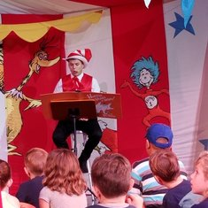 Seuss at Sea Character Parade & Story time