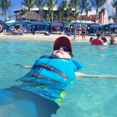 Swimming in Grand Turk
