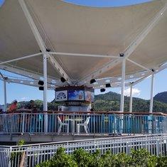 Sky Bar over looking pool area