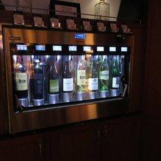 Wine dispenser in Library